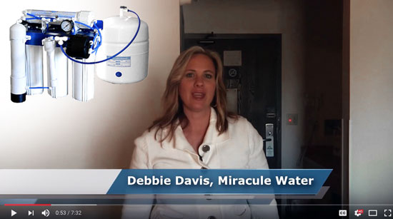 "Interviewing Miracule Water CEO ""Debbie Davis"""
