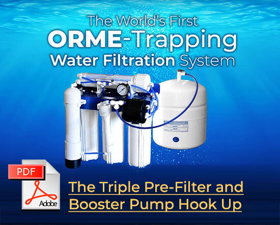The Triple Pre-Filter and Booster Pump Hook Up
