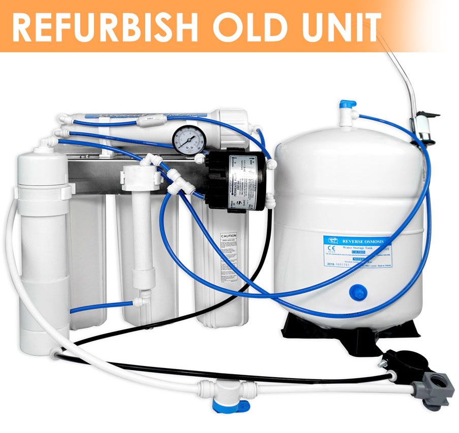 Refurbish your existing Miracule Water System